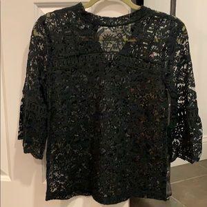 NWOT LOFT lace blouse